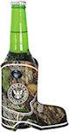 Mossy Oak Boot Shape Bottle Coolers (Bottomless)